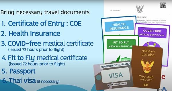L'entrée en Thaïlande peut s'effectuer sans visa mais pas sans formalités avant départ (illustration: MFA Thailand)