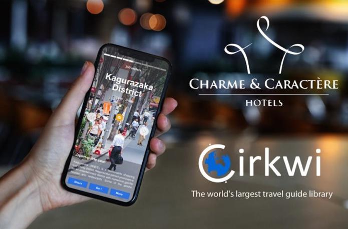 800 hôtels indépendants dans le monde intégreront la solution Storyguide de Cirkwi - DR