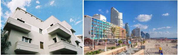 Ville blanche de TEL-AVIV - Le Bauhaus & le mouvement moderne