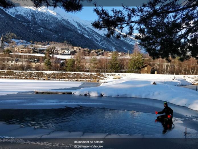 Ice Floating : une activité venue tout droit de Finlande, totalement inédite en France et complètement givrée !