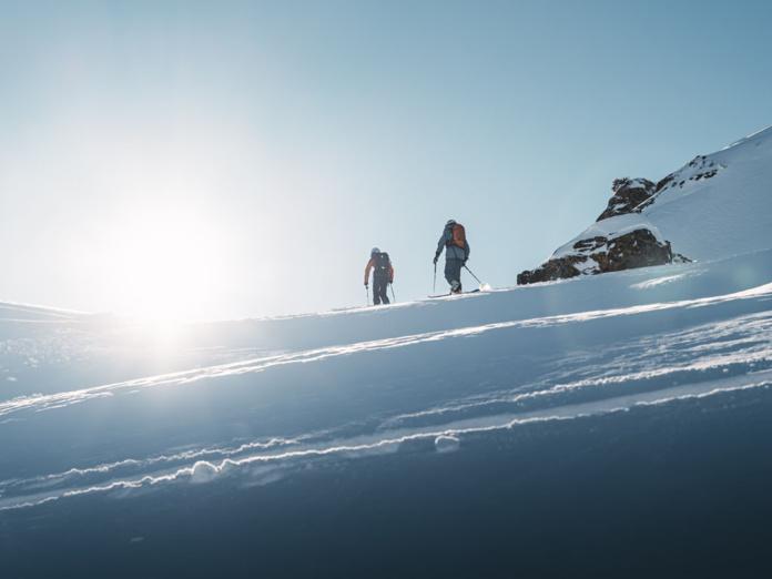 Pour satisfaire les amateurs de ski, Courchevel propose 3 itinéraires temporaires sécurisés + 2 itinéraires permanents - Photo Mathis Decroux