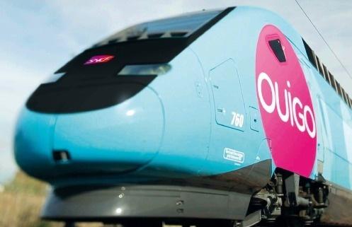 La direction de la SNCF a présenté la nouvelle rame Ouigo ce 19 février 2013 - Photo DR