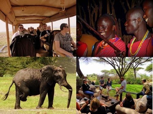 """Les 10 agents de voyages qui ont participé à l'eductour ont pu découvrir le fameux """"Big Five"""" dans les réserves naturelles qu'ils ont visitées - Photo DR"""