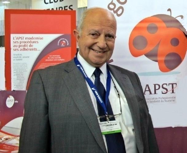 Raoul Nabet compte se représenter pour un nouveau mandat en tant que Président de l'APST - Photo DR
