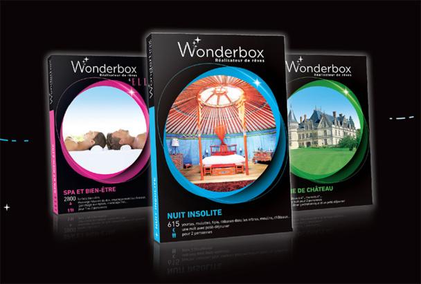 Coffrets cadeaux : Wonderbox met tous ses concurrents en boîte !