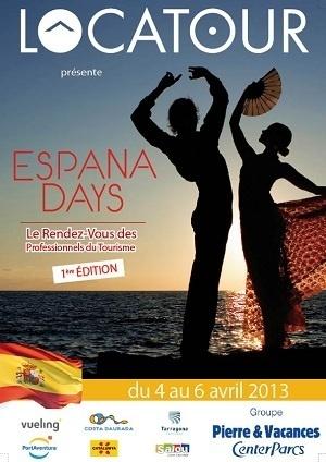 Après le succès des Alpydays en décembre 2012, Locatour et le groupe Pierre & Vacances - Center Parcs organisent les Espana Days du 4 au 6 avril 2013, en Espagne - DR