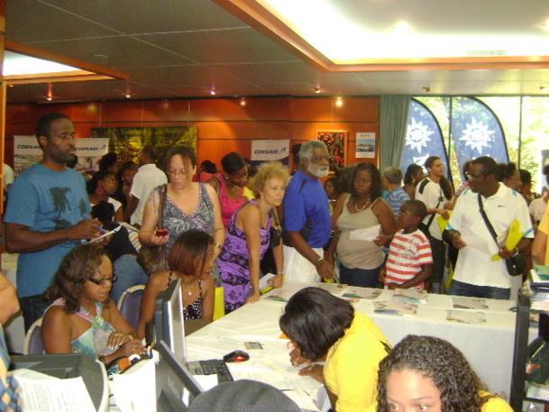 Le salon a accueilli plus de 3 000 visiteurs - DR : SMCR Voyages