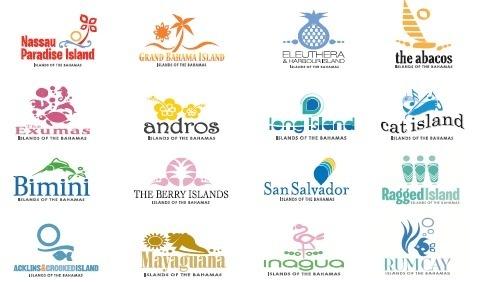 Les 16 destinations des Bahamas espèrent accroître leur notoriété avec leurs nouveaux logos - DR