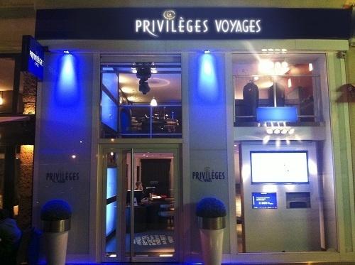 L'agence enseigne Privilèges Voyages est située dans le centre-ville de Nice - Photo DR