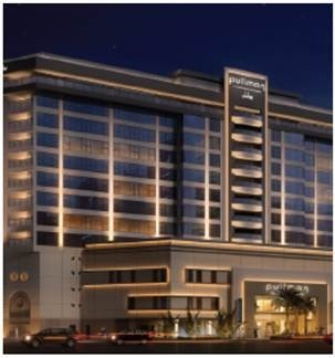 Le Pullman Dubai Deira City Centre compte 317 chambres - Photo DR