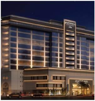Le Pullman Dubai Deira City Centre compte 317 chambres - Photo DR