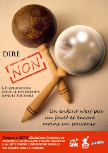 Visuel Concours Dire Non 2013 - DR