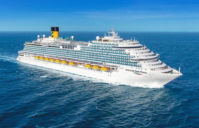 """Le navire comprend un parc d'aventure à bord, le """"Rope Garden Adventure Park"""", suspendu au-dessus de la mer - DR : Costa Croisières"""