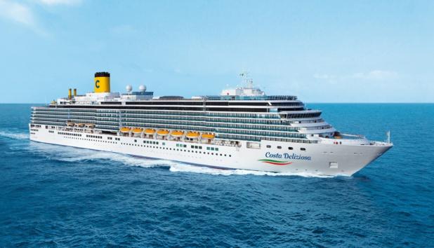Le Costa Deliziosa reprendra la mer le 31 janvier 2021 - DR