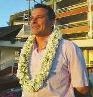 Thierry Barbion, promoteur du Radisson Plaza Resort Tahiti- Crédit: Ch. DUROCHER - Tahitipresse