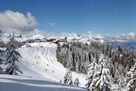 Domaine skiable de Megève - Pays du Mont-Blanc (74) © P. Maillet-Contoz/Auvergne-Rhône-Alpes Tourisme