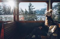 Tramway du Mont-Blanc - Saint-Gervais-les-Bains - massif du Mont Blanc © Max Coquard-Bestjobers