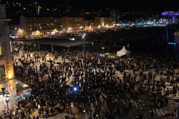 Le samedi 12 janvier 2013, plus de 400 000 personnes étaient présentes dans les rues de Marseille pour le lancement de MP2013 - Photo : Ville de Marseille