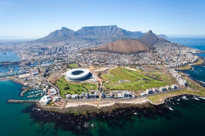 La ville du Cap en Afrique du Sud  - Depositphotos