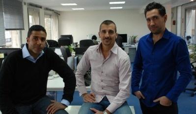 Emmanuel Yatera (Directeur des Opérations), Pascal Boyer (Directeur Commercial) et Vincent Luna (Directeur Général) - Photo DR