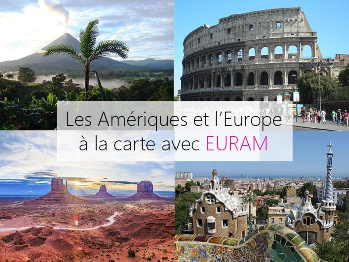 Les Amériques et l'Europe à la carte - Photos : Audrey Labarthe et Pixabay