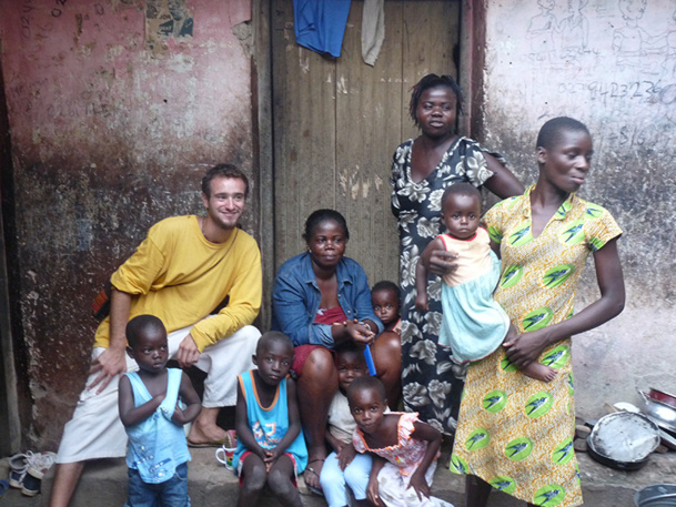 Pierre Fourcade a sillonné durant un an le Ghana, le Togo et le Bénin - DR : Sakado