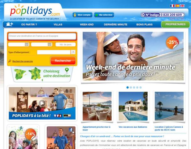 Location de vacances : Poplidays s'appuie sur les agents immobiliers !