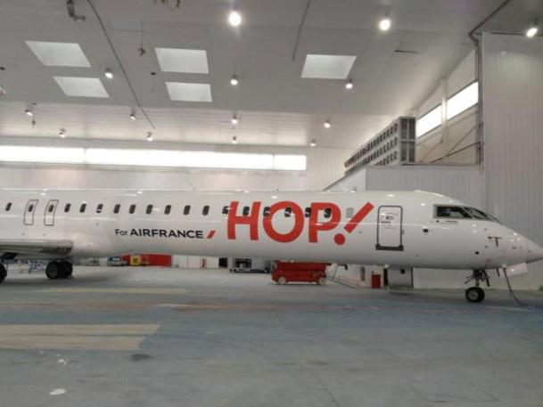 Air France : un premier appareil aux couleurs de HOP!