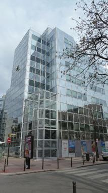 Le nouveau siège de TUI France, un immeuble de bureaux de 8 étages situé à Levallois-Perret près de Paris - DR : TUI France