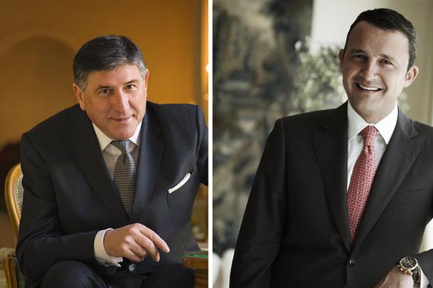 Didier Le Calvez et Philippe Perd accèdent à des postes de vice-présidents au sein du groupe Oetker Collection - DR : Oetker Collection
