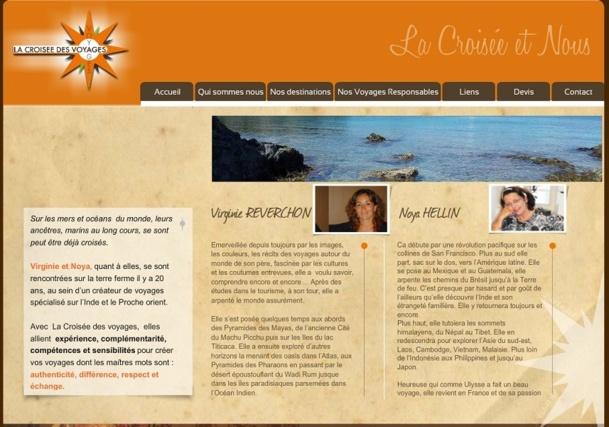 La Croisée des Voyages a débuté en janvier 2012 avec une agence de 70 m² à Revel en Haute-Garonne - Capture d'écran