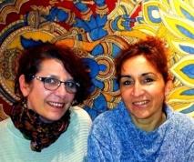 Noya Hellin (à gauche) est la fondatrice de La Croisée des Voyages - Photo DR