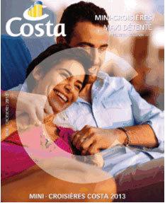 La brochure dédiée aux mini-croisières de Costa Croisières. - DR