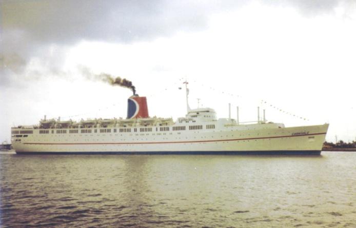 Le Carnivale, tout premier navire de Carnival Cruise Line en 1972 - DR
