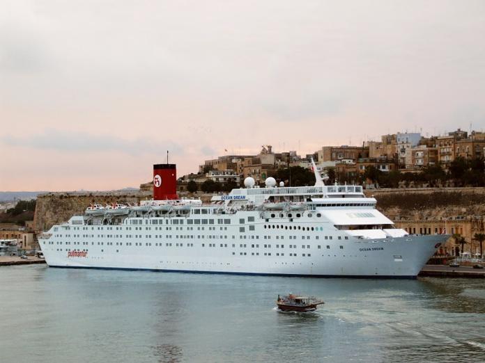 L'Ocean Dream dans le port de La Valette (Malte) en 2008 - DR : Stefan Grötsch, Wikimedia Commons