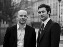 Thibault Jardin (à gauche) et Kristofer Moisan (à droite) sont les co-fondateurs de FriendlyMoment.com - photo DR