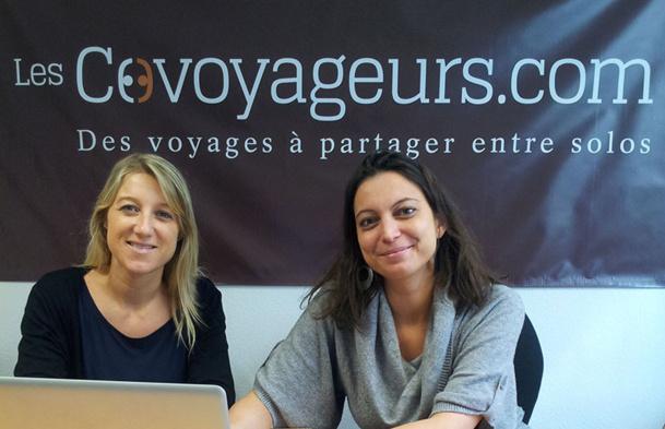 Aude Parlebas et Sarah Lopez ont décidé de se lancer sur le créneau des voyages pour familles monoparentales, mais aussi pour célibataires. - DR : Les Covoyageurs