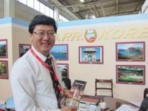 La Corée du Nord, dernier bastion communiste, était présent à l'ITB. DR