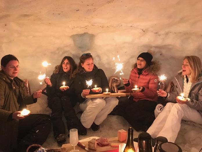 Apérigloo - DR Experience-Mont-Blanc.com, Michaël