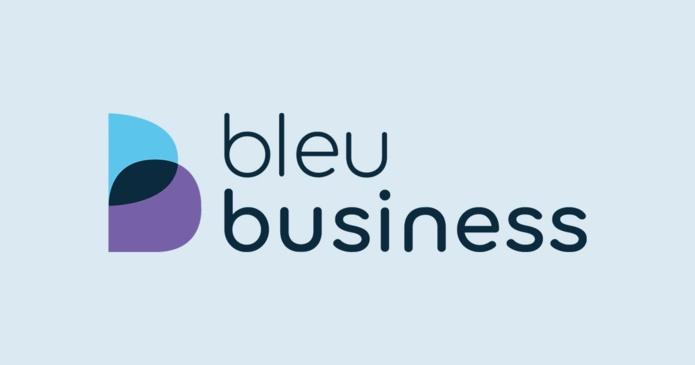La nouvelle identité visuel de Bleu Voyages qui devient Bleu Business - DR