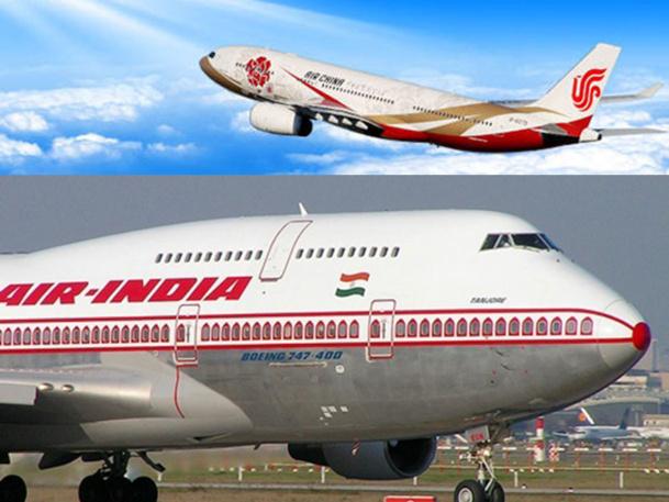 La Chine est sans contexte le nouvel Eldorado du transport aérien, devenant le 2e marché mondial au début des années 2020. A côté de cela, la situation en Inde est beaucoup plus compliquée - DR : Air China / Air India