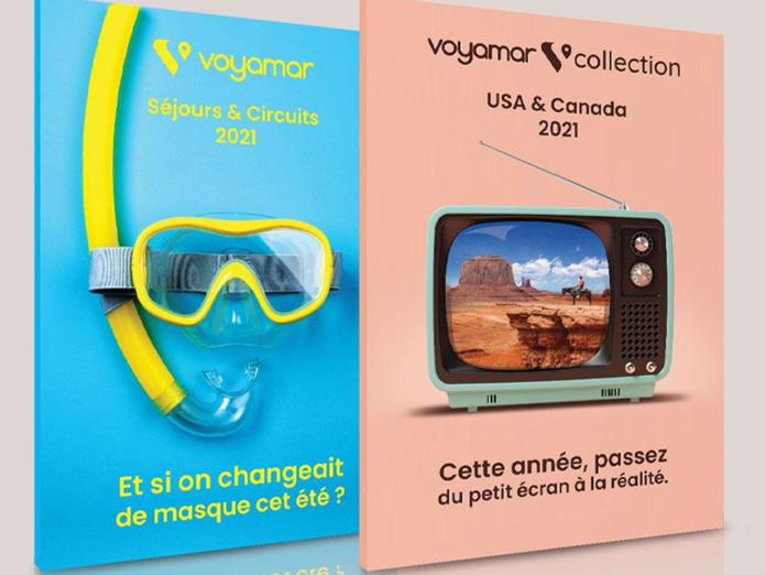 Les deux nouvelles brochures VOYAMAR pour l'été 2021 - DR