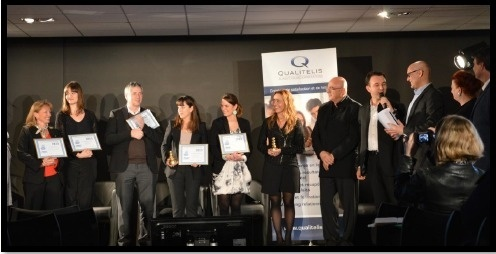 Les lauréats de l'édition 2013 du Concours Clients du Spa ont reçu leurs prix dimanche 10 mars 2013 lors d'une cérémonie à la Grande Halle de la Villette à Paris - Photo DR