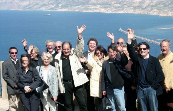 """Jean-Pierre Mas est de retour au """"pays""""... où il avait été prof (à Oran). C'était en 2003, une réunion d'une région Afat qui essayait déjà de lancer des WE à Alger et Oran... /photo JDL"""
