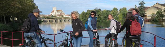 © Escapade Gourmande / Balade à vélo à Auxerre