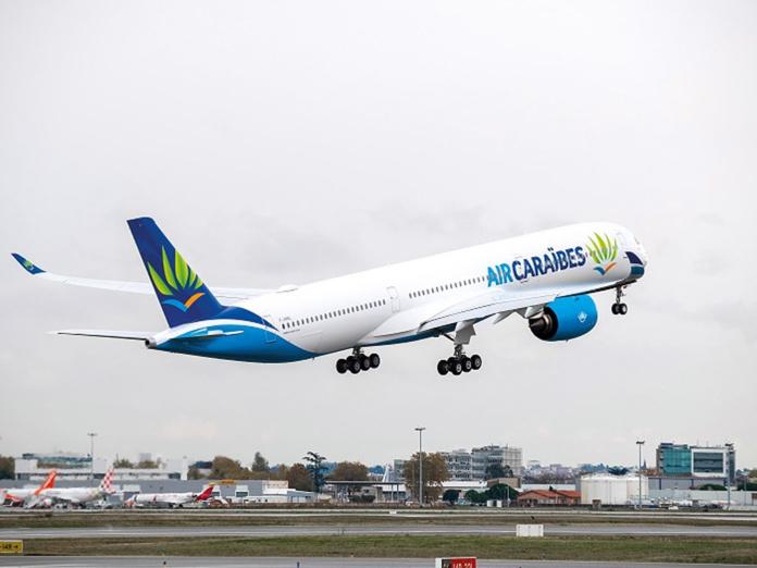 """""""En septembre nous sentions cette envie de partir. Les grands tour Operateurs comme TUI, le Club Med également, prévoyaient de rouvrir. b[Nous avons donc décidé de repartir sur la République Dominicaine pour la toussaint"""" -- Photo Air Caraïbes"""