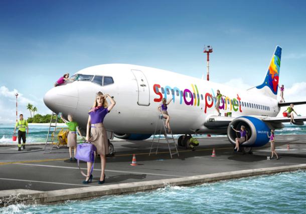 Le collectif appuyé par les syndicats se dit prêt à porter plainte non seulement contre la compagnie Small Planet Airlines mais également contre les tour-opérateurs qui affréteront cette compagnie. /photo dr