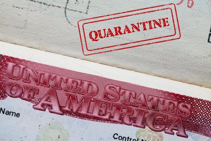 Le combiné test + quarantaine s'appliquera prochainement à l'arrivée par avion aux Etats-Unis - illustration Adobe Stock