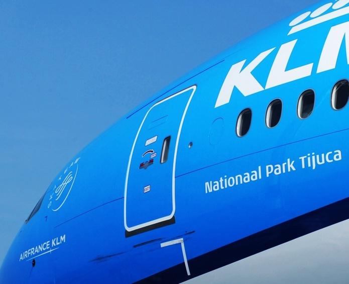 KLM Royal Dutch Airlines a pris la décision de stopper tous ses vols long-courriers, soit 270 vols hebdomadaires vers les Pays-Bas à partir du 22 janvier 2021. - DR instagram