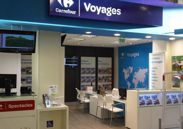 """Le """"réalisme"""" et le marasme économique ont-ils eu raison du projet de création d'un réseau en propre pour Carrefour Voyages ? /photo dr"""